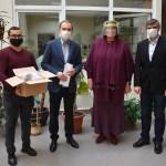 Koronavírus-teszteket adományozott a Rákóczi-főiskola a helyi kórháznak