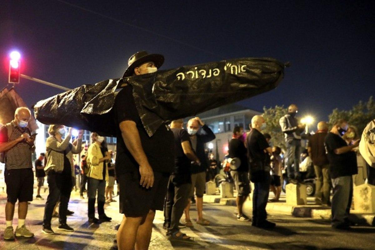 izraeli tüntetés