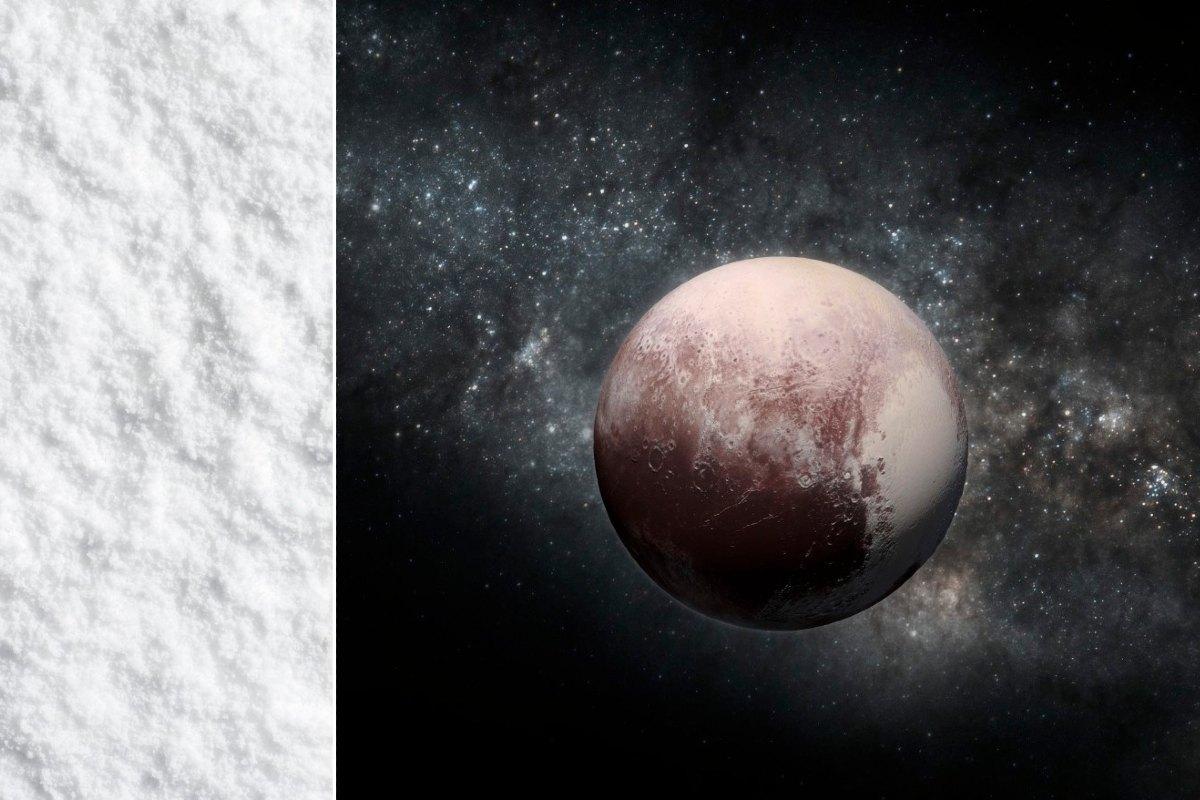 Pluto hó