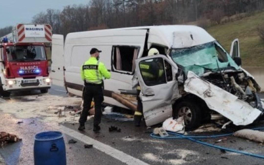 Ukránok szenvedtek tragikus balesetet Szlovákiában