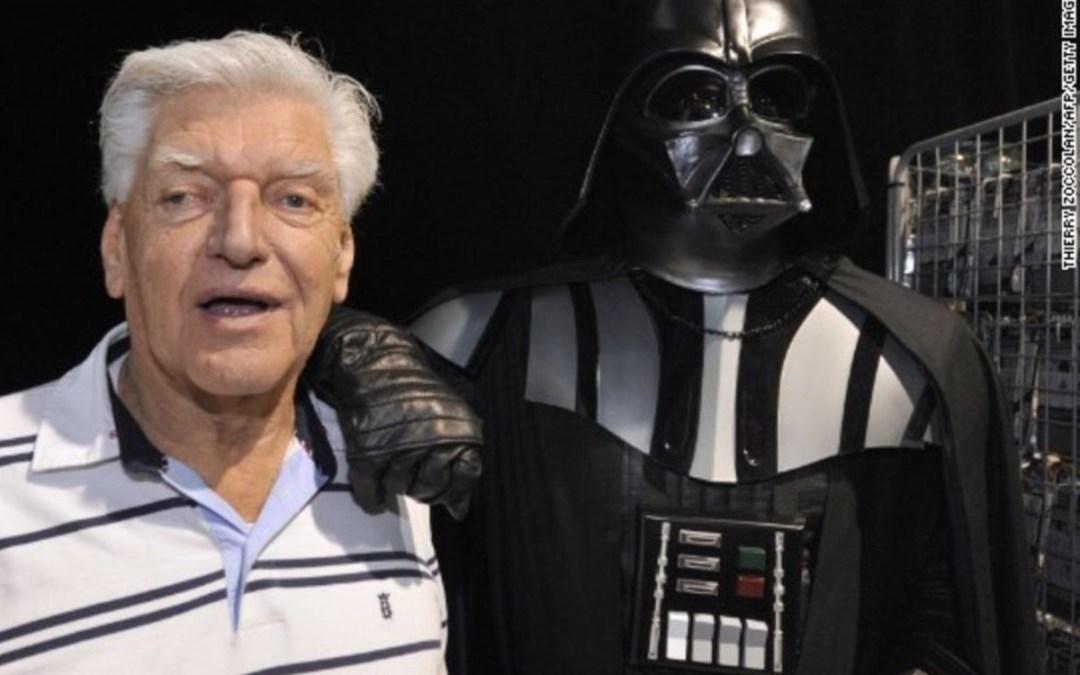 Elhunyt David Prowse, Darth Vader megszemélyesítője