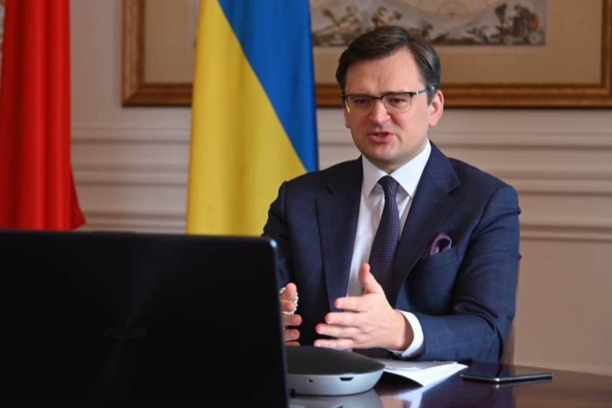 Dmitro Kuleba ukrán külügyminiszter.