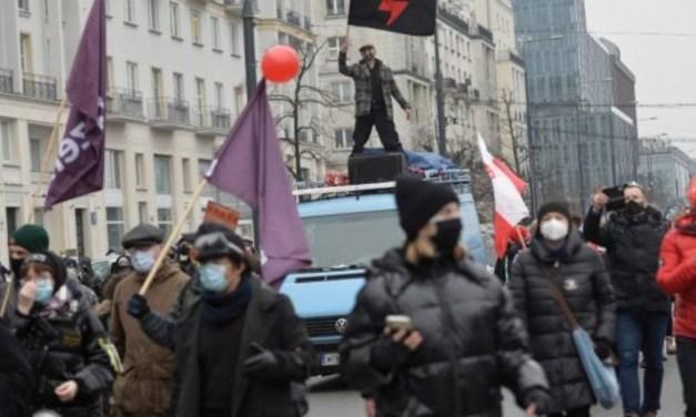 Karanténellenes megmozdulások Európában