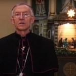 Єпископ-ординарій Антал Майнек привітав з Різдвом