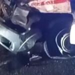 Mentőautó balesetezett a Huszti járásban