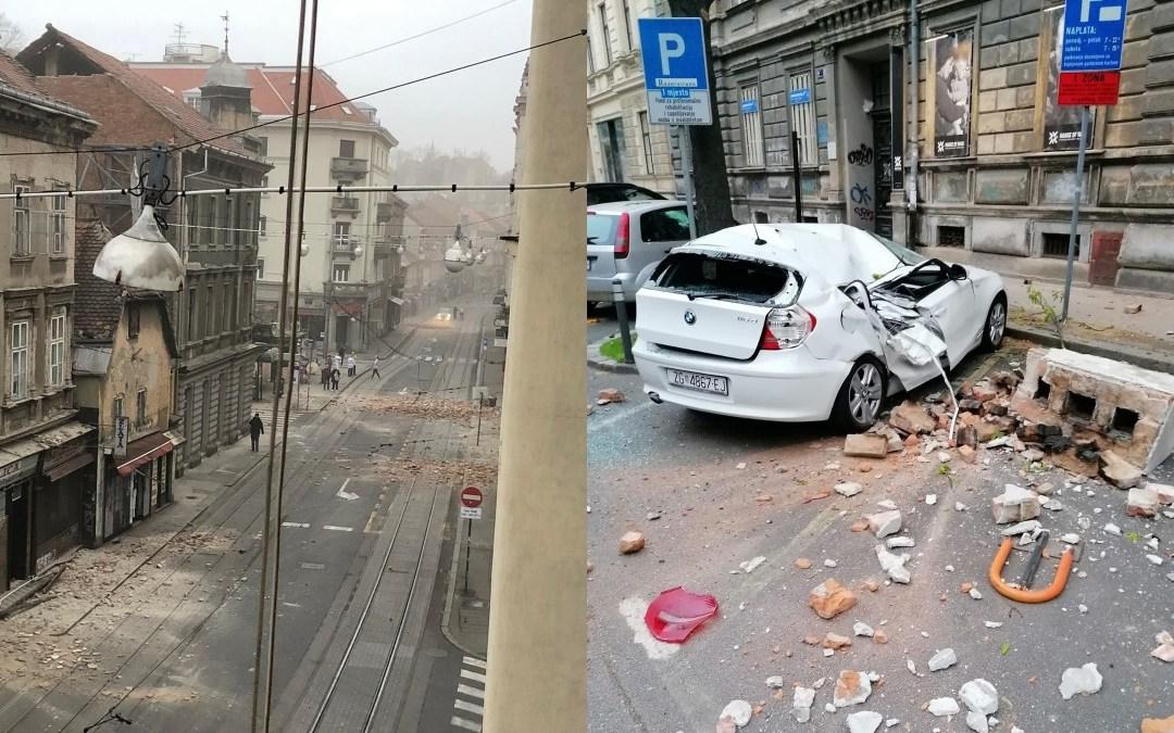Horvátországi földrengés – A törésvonal mentén Sziszek és Petrinja is centiket tolódott kelet felé