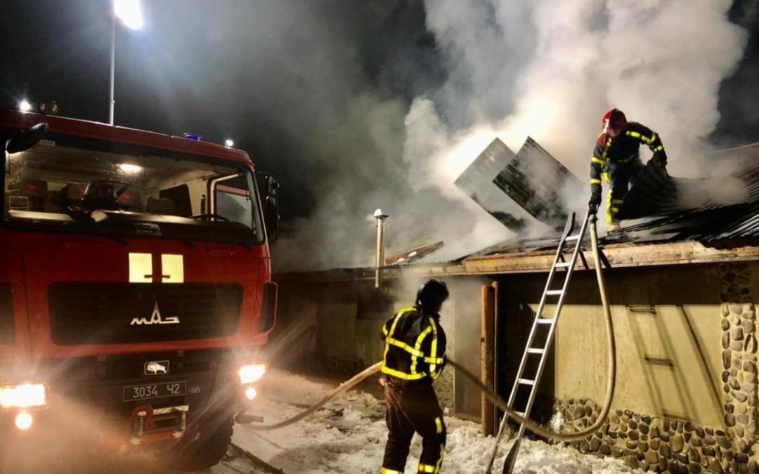 Háziállatok pusztultak el a tűzben egy huszti istállóban