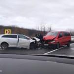 Négy autó ütközött össze a Munkácsi járásban