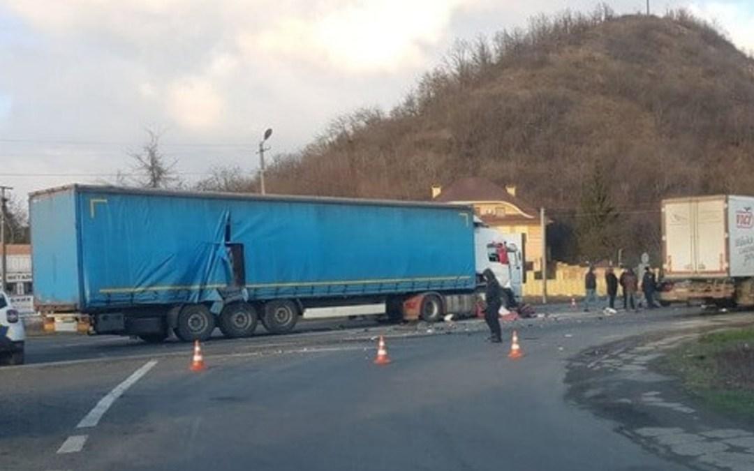 Közúti baleset Munkácsnál