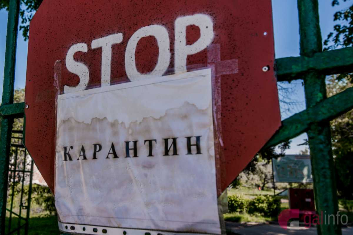 karantén stop