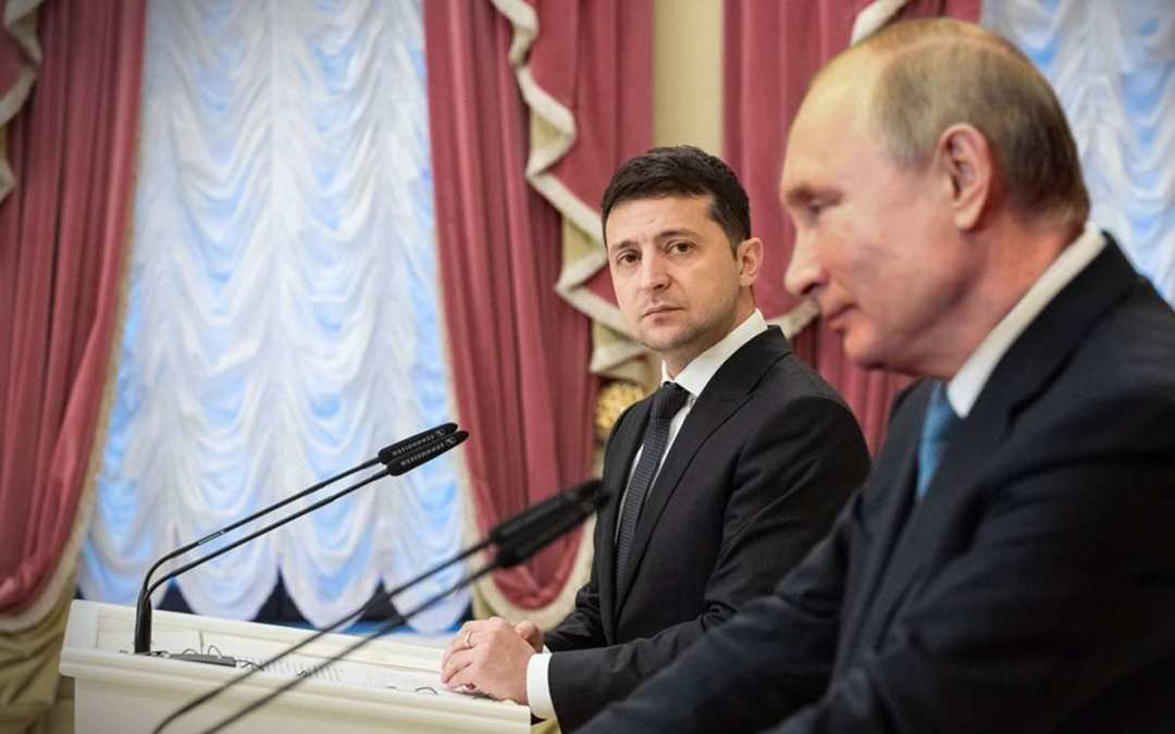Zelenszkij a Vatikánban szeretne találkozni Putyinnal