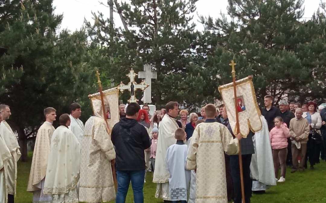 Templombúcsút tartottak a tiszaújlaki görögkatolikusok