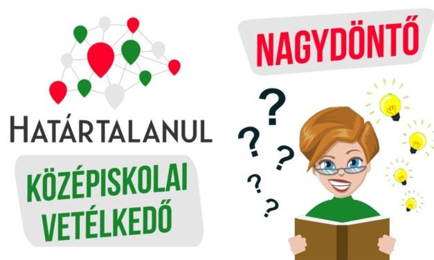 Beregszásziak érték el a második helyezést a Határtalanul! középiskolai vetélkedőn