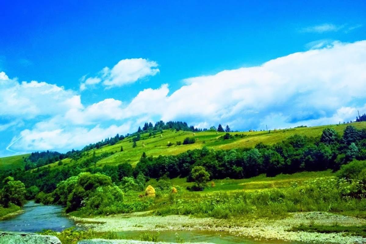 hegyek Verhovina