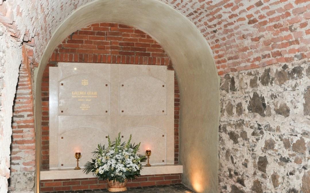 Felszentelték Milan Šašik síremlékét Ungváron