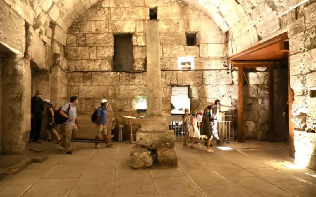 Impozáns Jézus-korabeli középületet tártak fel