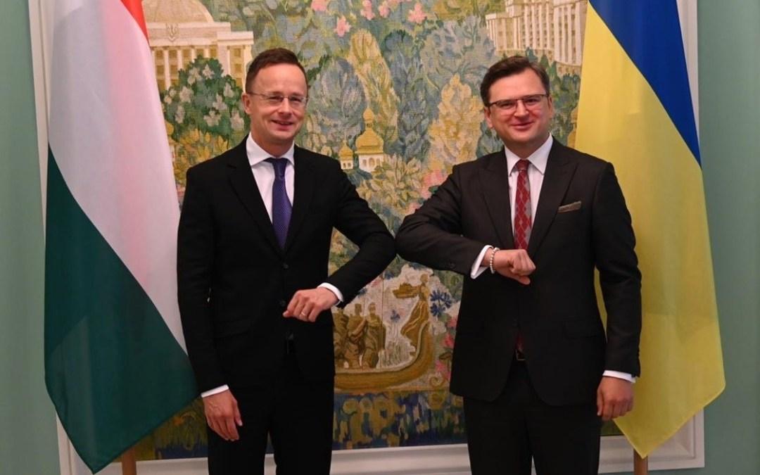 Ukrajnába látogat Szijjártó Péter