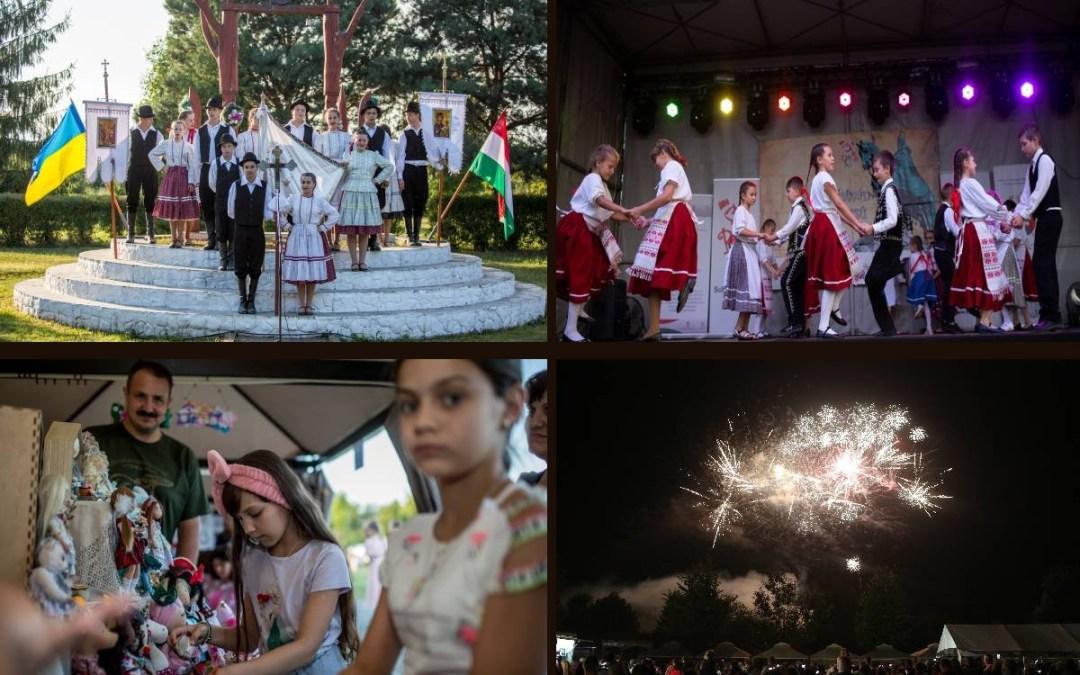 Святкування Дня Святого Іштвана в Чомі