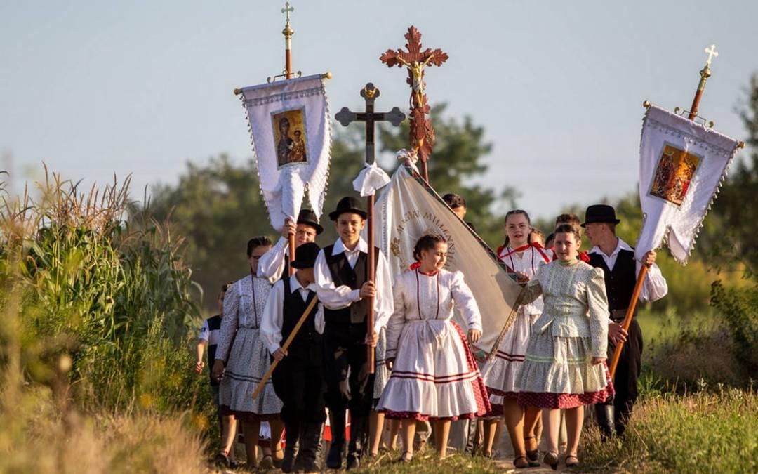 Szent liturgiában is megemlékeztek Szent István királyról Tiszacsomán
