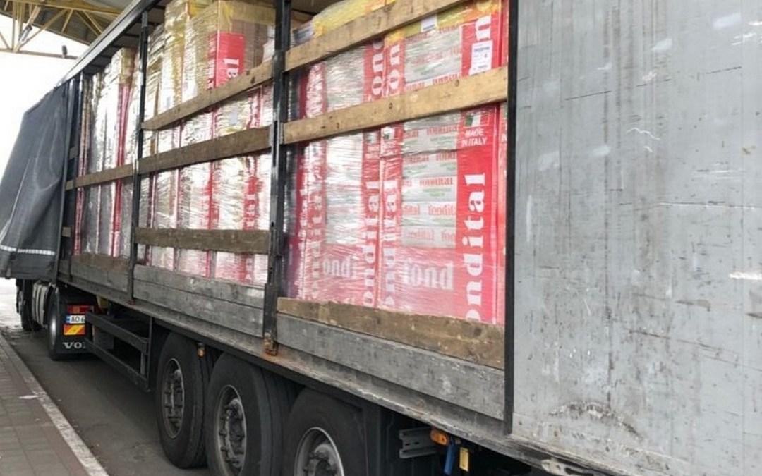 Közel kétmillió hrivnya értékű fűtőtest-szállítmányt foglaltak le a Csap-Záhony határátkelőn
