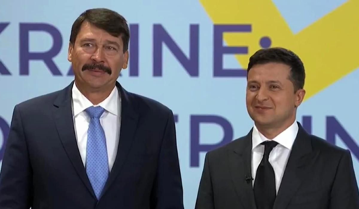 Áder Zelenszkij Kijevben