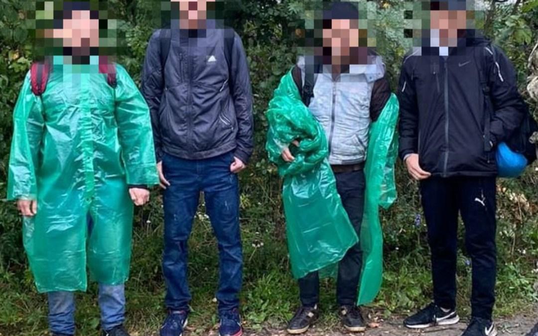 Négy illegális határsértőt vettek őrizetbe Mezőkaszonynál