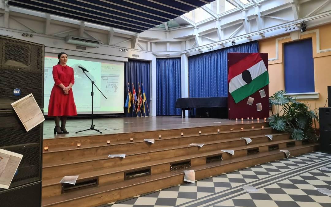 Az 1956-os forradalomról és szabadságharcról emlékeztek meg a Rákóczi-főiskolán