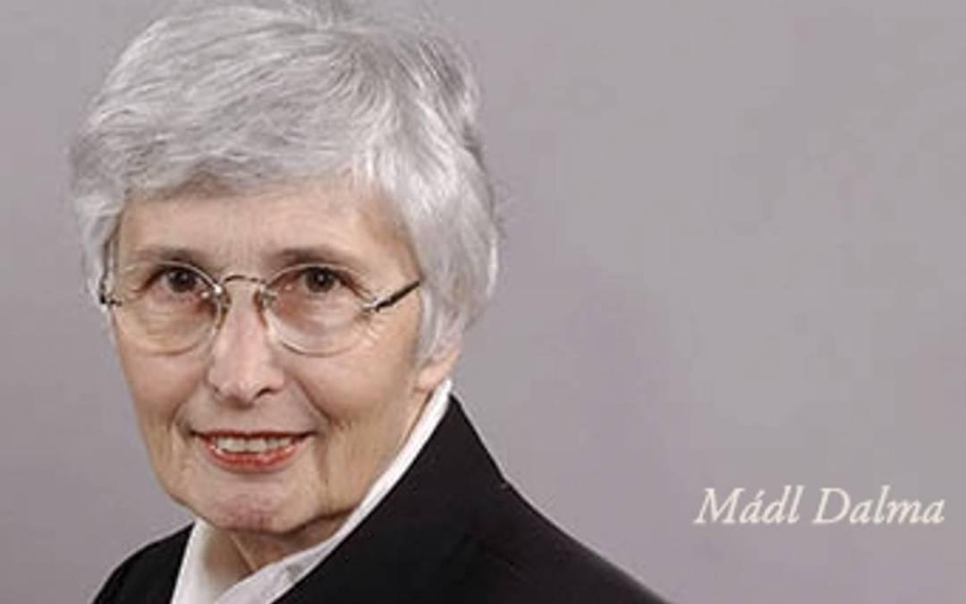 Meghalt Mádl Dalma