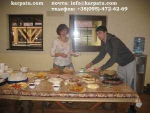Питание отдых Карпаты на майские 2015