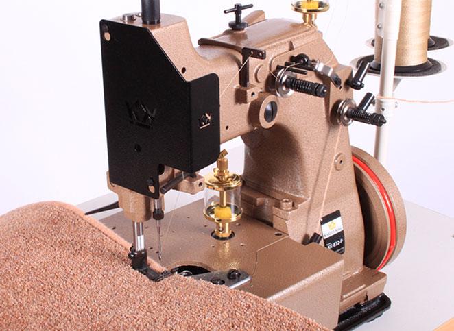 Karpet King 812 P Carpet Whipping Machine Carpet Serger