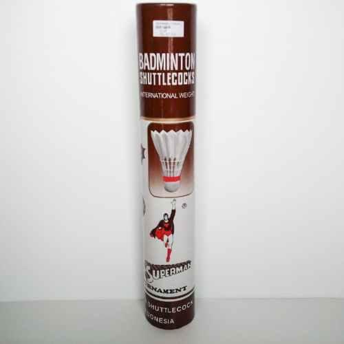 Produsen Shuttlecock superman coklat Grosir