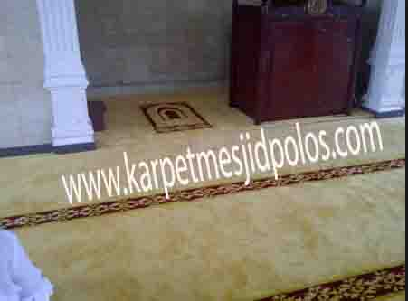 daftar harga karpet masjid per roll