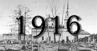 Метрическая книга 1916 года
