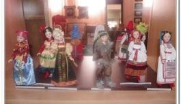 Куклы в народных костюмах