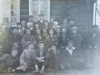 1932 год. Актив профсоюза Механических мастерских. Транспортное управление. Калинин П.П. 2 ряд, 5-й справа