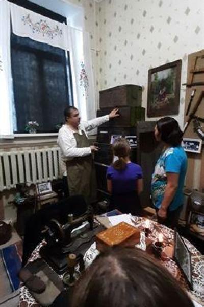 Историческую повесть рассказывает краевед Садовников О.А.