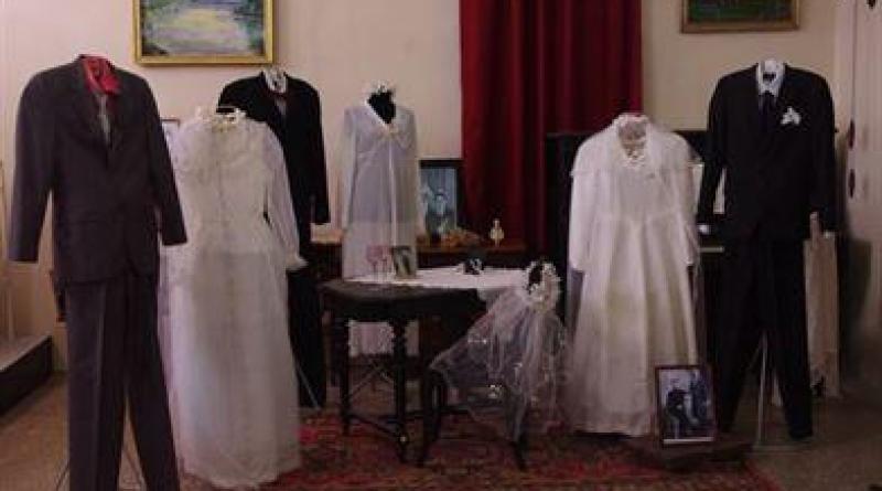 Выставка свадебных платьев СССР