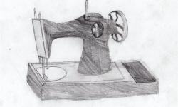 Швейная машинка. Куранов Кирилл, 3 кл.