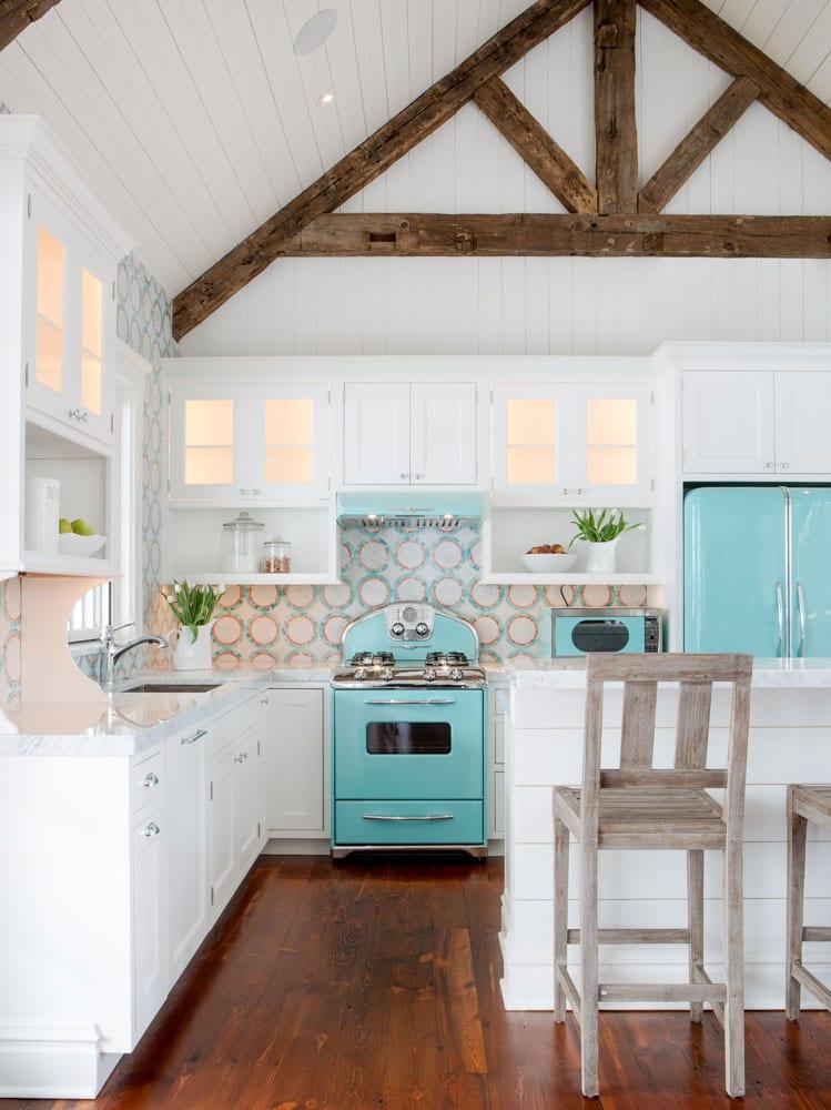 Pool House Kitchen  Karr Bick Kitchen  Bath