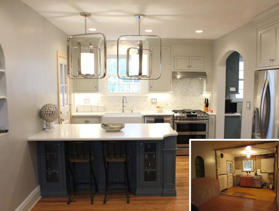 Before and After Pictures of Kitchens Bathrooms and