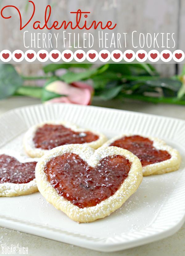 Valentine-Cherry-Filled-Heart-Cookies