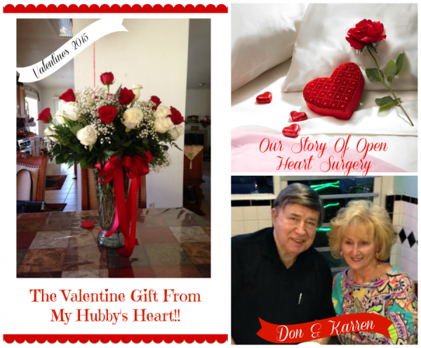 Our story of open heart surgery and Valentines