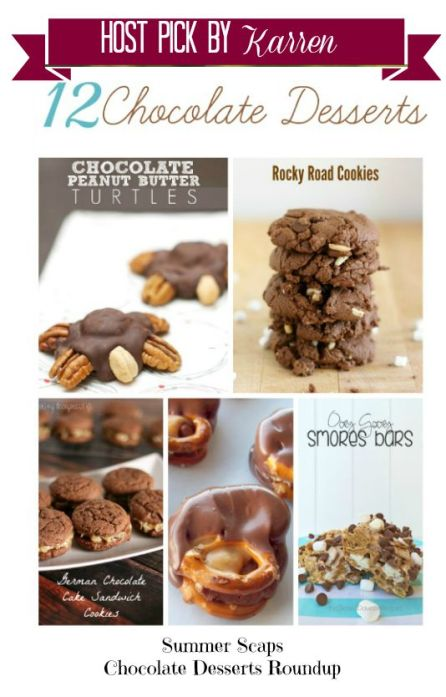 12 Chocolate Desserts Summer Scapes