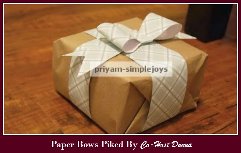 Paper Bows -Donna-