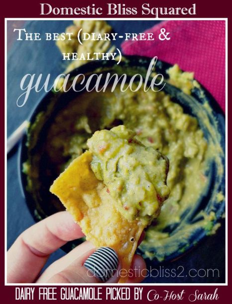 Diary Free Healthy Guacamole Domestic Bliss-