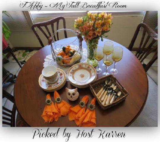 FAbby-My Fall Breakfast Room
