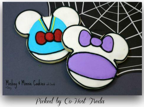Mickey-Minnie-Cookies-with-Donald-Daisy Fantastic-Foodrecipes