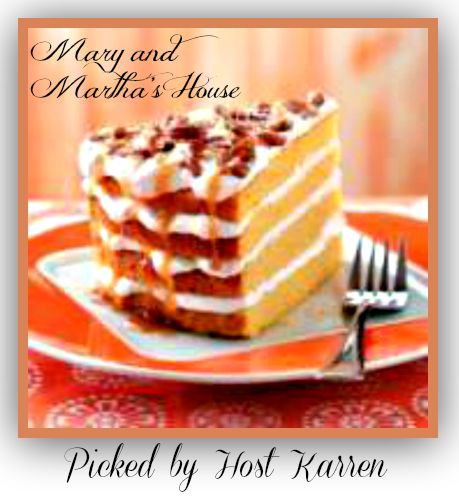 Pumpkin-dessert-recipe Mary and Marthas House