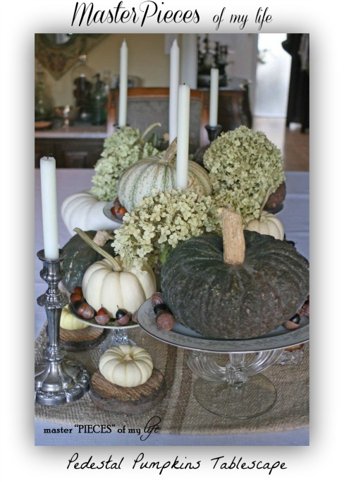 Pedestal-plates-pumpkins-tablescape-master-pieces-of-my-life