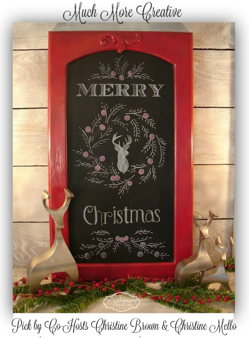 Much More Creative-Holiday Chalkboard
